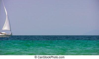 Sailing near coast 1