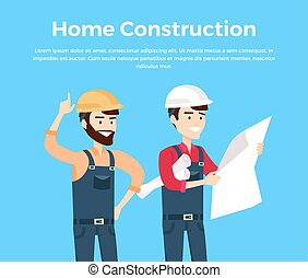 Home Construction Design Banner Conceptual - Home...