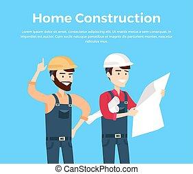 Home Construction Design Banner Conceptual - Home...