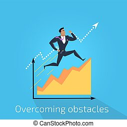 Overcoming Obstacles Banner Design - Overcoming obstacles...