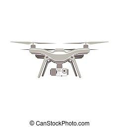 drone quadrocopter aerial icon - drone quadrocopter wireless...