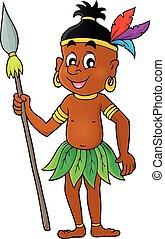 Aborigine theme