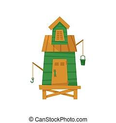 Green Beach Fisherman Cabin