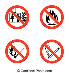 No smoking, No open flame, no matches, no lift. - No...