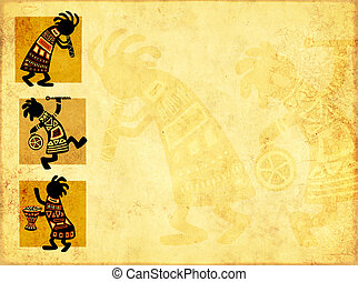 africano, nacional, padrões