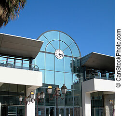 chamber of commerce and maritime terminal ajaccio corsica -...