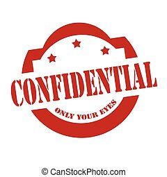 Confidential-red stamp