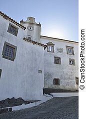 Historical building in Marvao - Historical building in the...