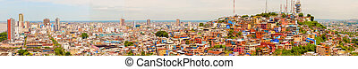 View of Cerro Santa Ana in Guayaquil Ecuador - View of...