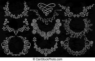 Semicircular ornaments