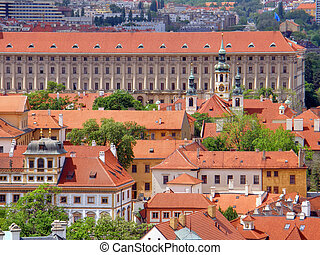 Prague. Czechia - Old city. Prague. Czechia