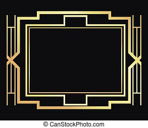Flat illustration about gatsby background design - Gatsby...