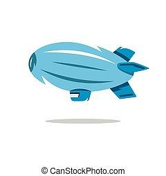 Airship icon, Airship icon eps, Airship icon vector, Airship...
