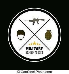 Army design illustration