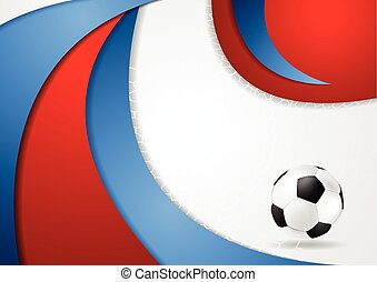 Euro Football Championship 2016 in France - Graphic vector...