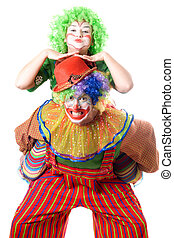 A couple of funny clowns