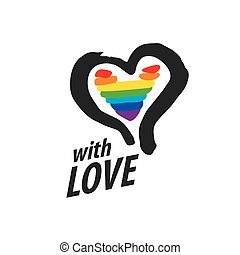 logo heart and rainbow - Rainbow heart Conceptual design for...