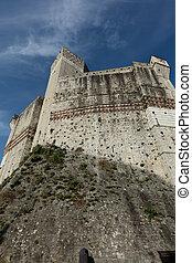 The castle of Lerici - The old castle of Lerici in Liguria,...