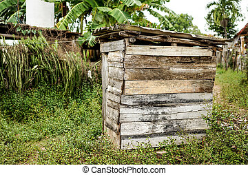 Wooden shed, house or Shack