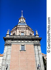Iglesia de San Andres in Madrid - Main tower of the Iglesia...