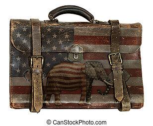 行李, 共和, 政治