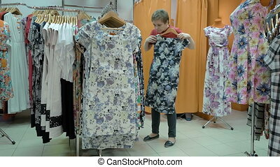 A customer searches the best suitable size for her - A...