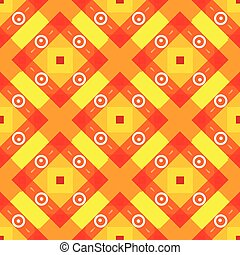 Simple yellow background with rombs - Simple yellow b red...