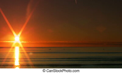 Sunset over the sea 10