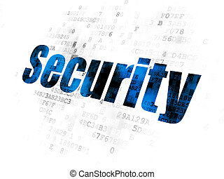 Safety concept: Security on Digital background