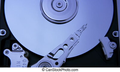 Hard Disk Drive closeup 5