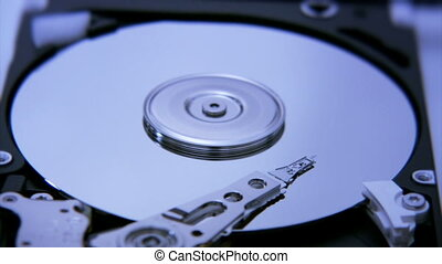 Hard Disk Drive closeup 1