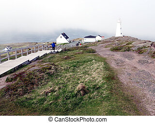 Newfoundland view of Cape Spear lighthouse 2016 - View of...