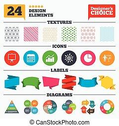 Diagram graph Pie chart Presentation billboard - Banner...