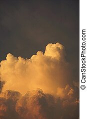 abstract cloud scape - abstract of cloud scape for...