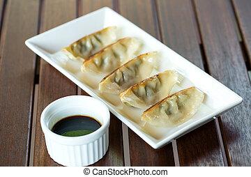Dumpling - Japannese stuffed dumpling