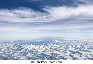 Fluffy - Skyscape with thousands of fluffy clouds