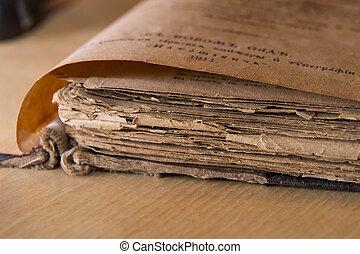 Antique scripture