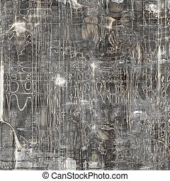 Art grunge texture for creative design or scrap-book With...
