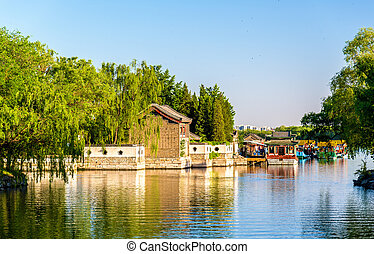 Kunming Lake at the Summer Palace in Beijing - China