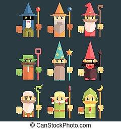 Flash Game Wizard Set