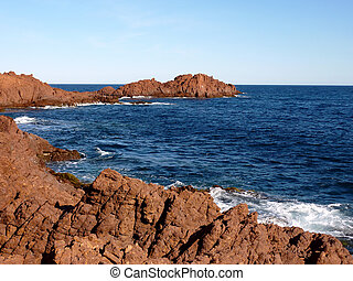 Esterel massif, France