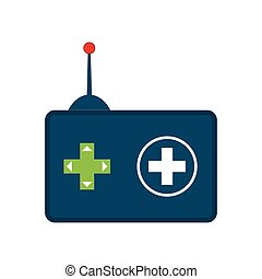 Control and button icon Video game design Vector graphic -...