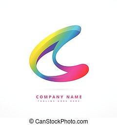 creative colorful logo template design