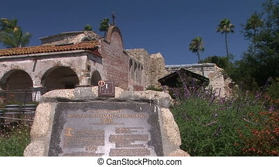 Marker - Sign for Mission San Juan Capistrano