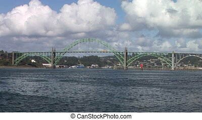 Newport Bridge - Yaquina Bay Bridge in Newport, Oregon