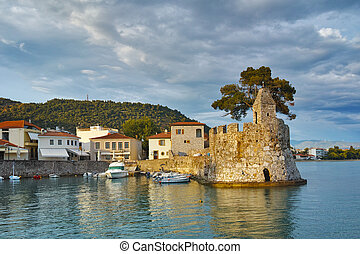 Sunset at the port of Nafpaktos - Amazing Sunset at the port...