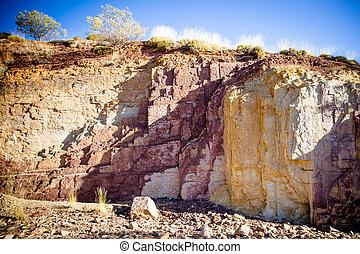 Aboriginal Ochre Pits - A sacred Aborginal site of Ochre...