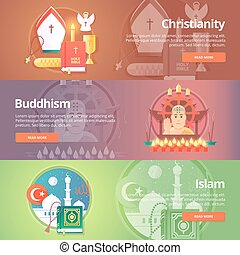 Christianity Buddhism religion Buddhistic culture Islam...