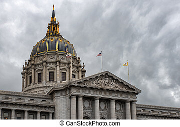San Francisco City Hall - City Hall in San Francisco,...