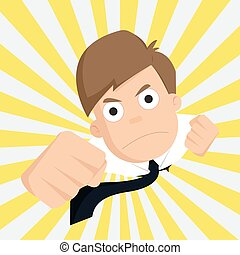 businessman of success business,Outstanding,Employee.vector